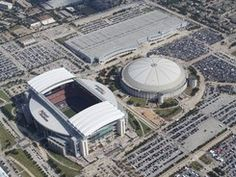 NRG Stadium and the Astrodome